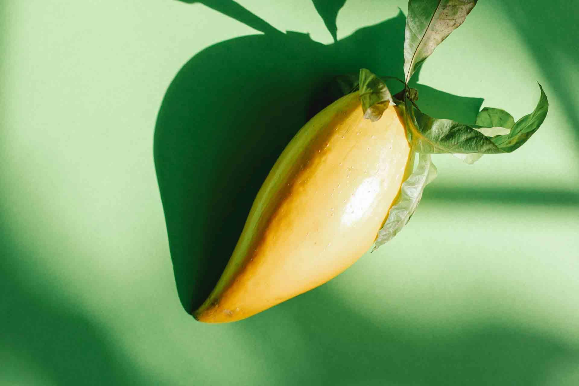 Mango With Banana Shape